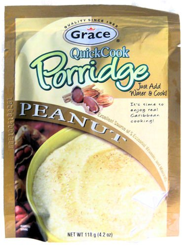 Grace Quick Cook Peanut Porridge Just Add Water & Cook 118g 4.2oz