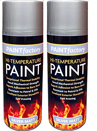 2-x-high-temperature-heat-resistant-silver-matt-spray-paint-stove-exhaust-400ml