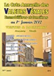 Valeurs vnales au 1er janvier 2012