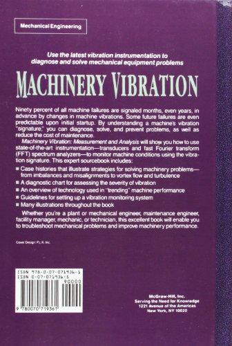 Machinery Vibration: Measurement and Analysis