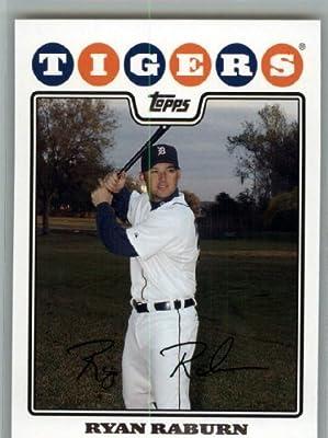 2008 Topps Detroit Tigers LIMITED EDITION Team Edition Gift Set # 15 Ryan Raburn - MLB Trading Card