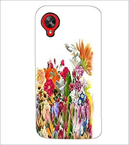 PRINTSWAG FLOWERS Designer Back Cover Case for LG GOOGLE NEXUS 5