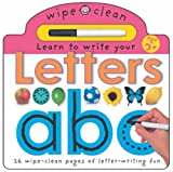 Learn to Write Your Letters (Wipe Clean Write and Learn) Roger Priddy