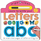 Learn to Write Your Letters (Wipe Clean Write and Learn)by Roger Priddy