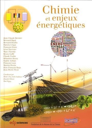 La chimie et les enjeux énergétiques