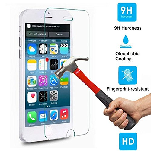 1 Iphone 5 5S Tempered Glass Screen Protector by Beam