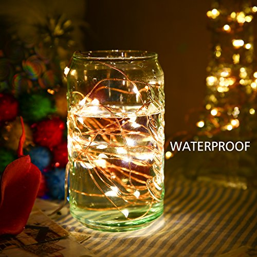 [ 6 PACK ] LED Starry String Lights, Poshei 30 Leds Christmas Lights  10ft/3M Flexible Copper Wire ...