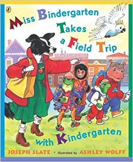 Miss Bindergarten Takes A Field Trip Coloring Page