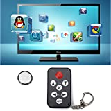 HDE Universal 7 Button Stealth Television IR Remote Control TV Prank Clicker Keychain