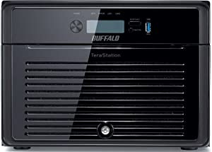 Buffalo Technology TeraStation 5800 NAS-Server bis 32TB (Intel Atom D2700, 2GB RAM, 8-Bay, 2x RJ-45, 3x USB 3.0)