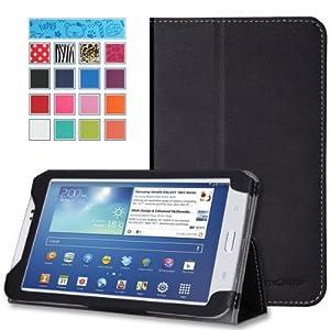 MoKo Samsung Galaxy Tab 3 7.0 Case - Slim Folding Cover Case for Samsung Galaxy Tab 3 7.0 Inch Android Tablet, BLACK (WILL NOT Fit Samsung Galaxy Tab 3 Lite 7 / Tab 4 7.0)