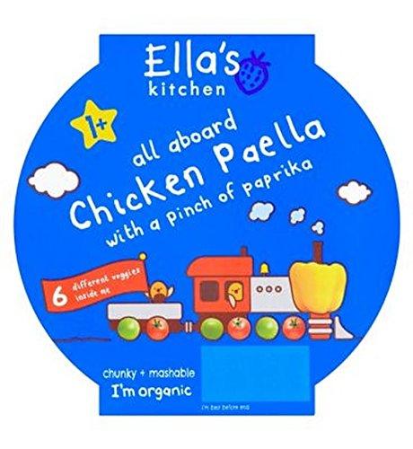 Cuisine La Paella Au Poulet De Ella Avec Une Pincée De Paprika 1+ 200G