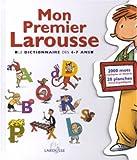 echange, troc Larousse - Mon premier Larousse, 4/7 ans
