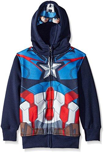Marvel Boys' Captain America Hoodie