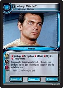 Star Trek Ccg 2e Tatv Voyages Gary Mitchell Godlike Mutant 12c63