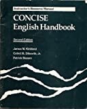 img - for CONCISE English Handbook: Teacher's Resource Manual book / textbook / text book