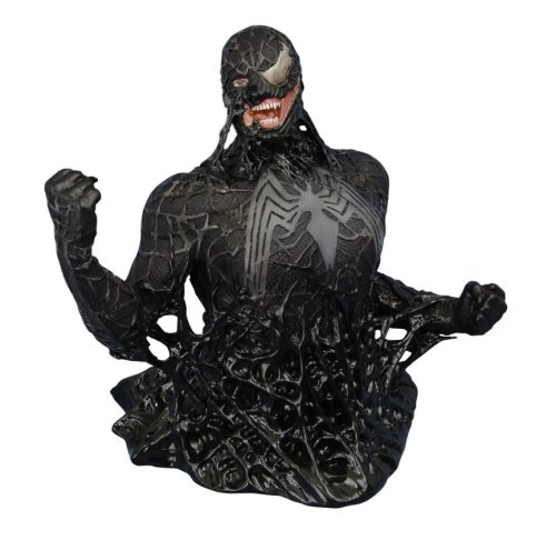 Marvel Spiderman 3 Venom Bust (transforming Variant) Picture