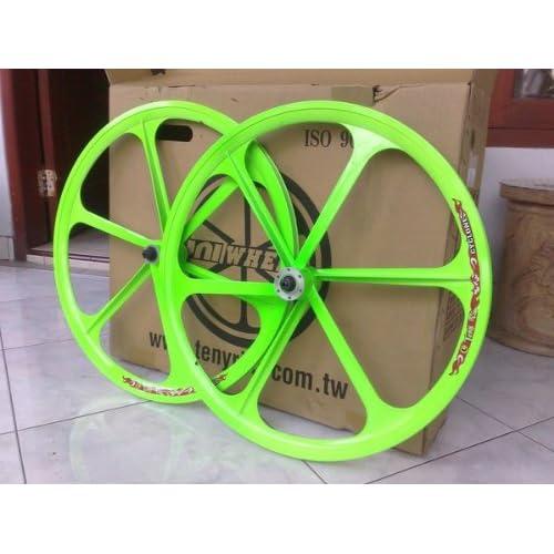 Amazon.com: 700c Teny Mag Wheels (Neon Green)
