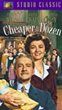 Cheaper By the Dozen [VHS]