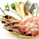 全品国内産 干物 6種類 12枚 セット (金目鯛入り)