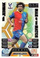 Match Attax 2013/2014 Mile Jedinak Crystal Palace 13/14 Man Of The Match