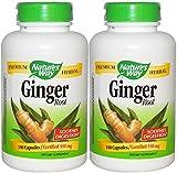 Natures Way Ginger Root, 550 Mg, (2 X 180)