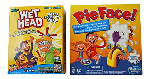 Wet Head & Pie Face - 2 Game Bundle (Wet Head Hat compare prices)