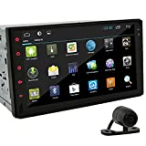 7 inch Car Radio Tablet Android 4.2 2Din In Dash Capacitive HD Multi-touch Screen Car Non-DVD Player GPS Navi Stereo AM/FM Radio Support BT/SD/USB/ipod/AV-IN/3G/Wifi/DVR With Backup Camera As Gift