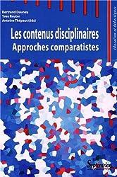 Les contenus disciplinaires : Approches comparatistes