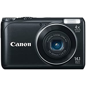 Canon PowerShot A2200 Digital Still Camera with 4x Wide-Angle Optical Zoom