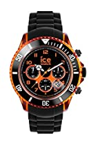 Ice-Watch - Chrono Electrik - Black - Orange - Big Big