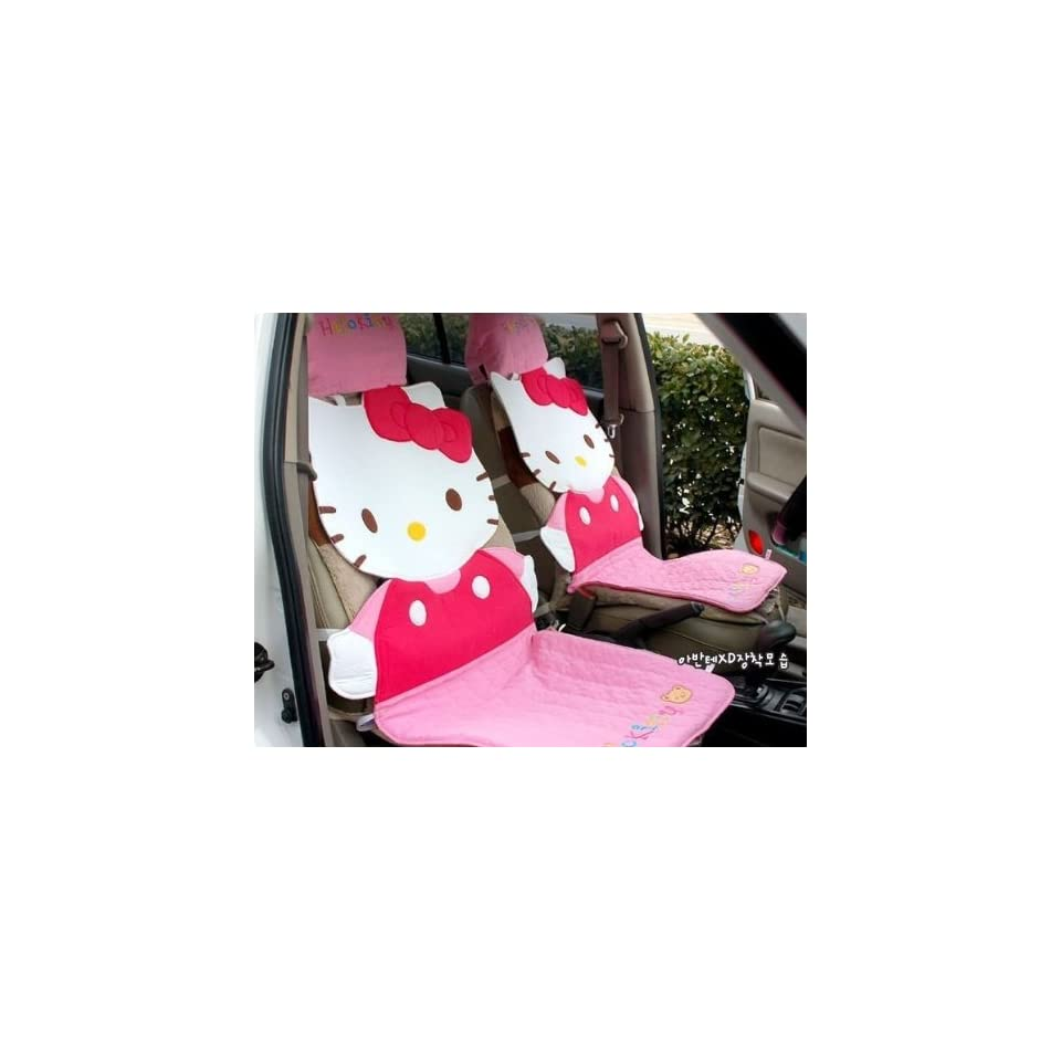 REALLY Sanrio Hello Kitty Seat Cover 1PC by H M Shop