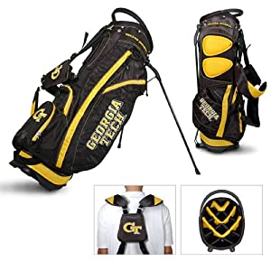 Brand New Georgia Tech Yellowjackets NCAA Stand Bag - 14 way by Things for You