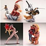 カプセルQキャラクターズ 進撃の巨人 絶望と反攻のヴィネット 全4種