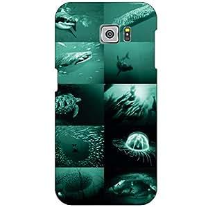 Samsung Galaxy S6 SM-G920IZKA Back Cover - Navy Blue Designer Cases