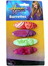 Disney Hannah Montana Hair Accessories - 4pc Hannah Montana Barrettes