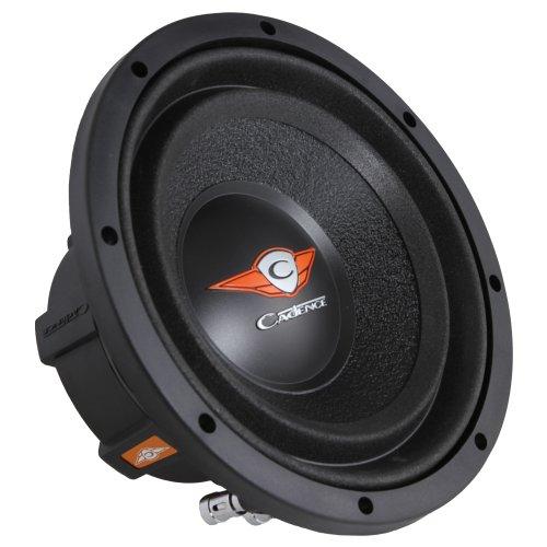 Cadence Acoustics S1W8-D2 500 Watt Peak 8-Inch Dual Voice Coil 2 Ohm Subwoofer