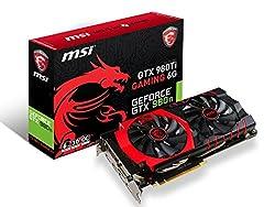 MSI GTX 980TI GAMING 6G グラフィックスボード VD5769 GTX 980TI GAMING 6G