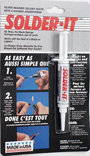 Solder SILVER SOLDER PASTE (1 piece) (Silver Bearing Solder Paste compare prices)