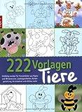 Window-Color-Vorlage: 222 Vorlagen Tiere: Vielfältig nutzbar für Fensterbilder aus Papier und Windowcolor, Laubsägearbeiten, Kartengestaltung, Acrylmalerei und etliches mehr