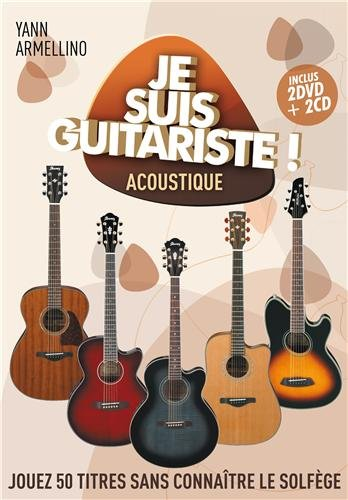 Je Suis Guitariste Acoustique (CD+Livre) Robin Guillaume Sony Music Entertainmen