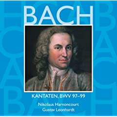 Bach, JS : Sacred Cantatas BWV Nos 97 - 99