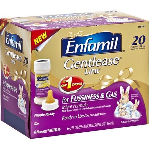 Enfamil Gentlease Lipil Nursette 2 Oz Bottles 6 Enfamil