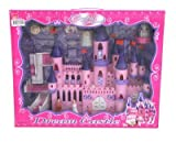 Kids Authority Mega Victorian Castle Dollhouse - Musical Castle playset with princess and furnitures