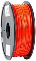 eSun PLA 3D Printer Filament, 3 mm Diameter, 1 kg Spool, Red from Shenzhen Esun Industrial Co., Ltd.