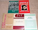 img - for 5 Book SPECIAL: Roy L. Laurin, Martin Luther, W. H. Griffith Thomas & MORE! book / textbook / text book