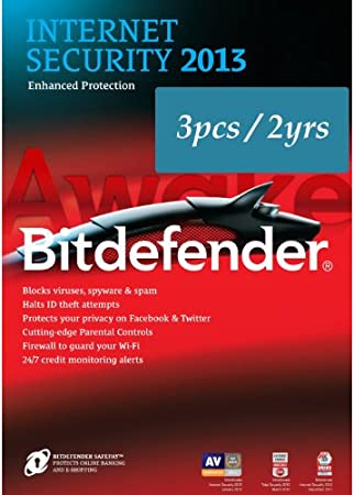 Bitdefender Internet Security 2013 - 3pcs/2years