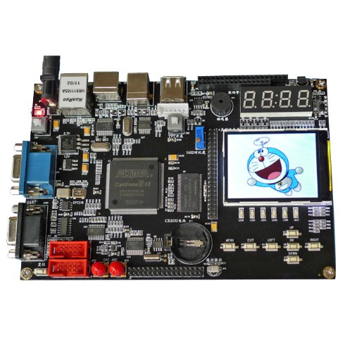 SainSmart Altera Cyclone SOPC EP2C8Q208C8N Chip Development Board with FPGA SDRAM, ADC 2.4'' TFT LCD, USB Blaster