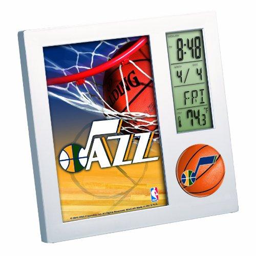 NBA Utah Jazz Digital Desk Clock