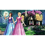 Akhuratha Designs Movie Barbie & The Diamond Castle Barbie HD Wall Poster